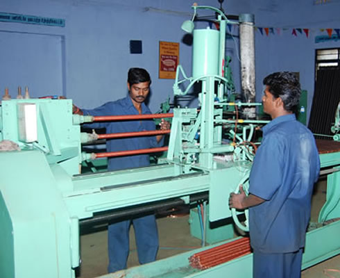 Machine Section