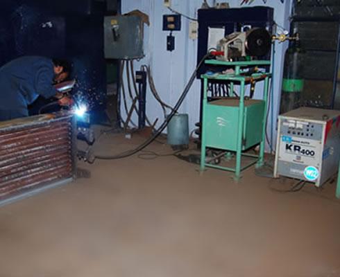 Welding & Assembling Section