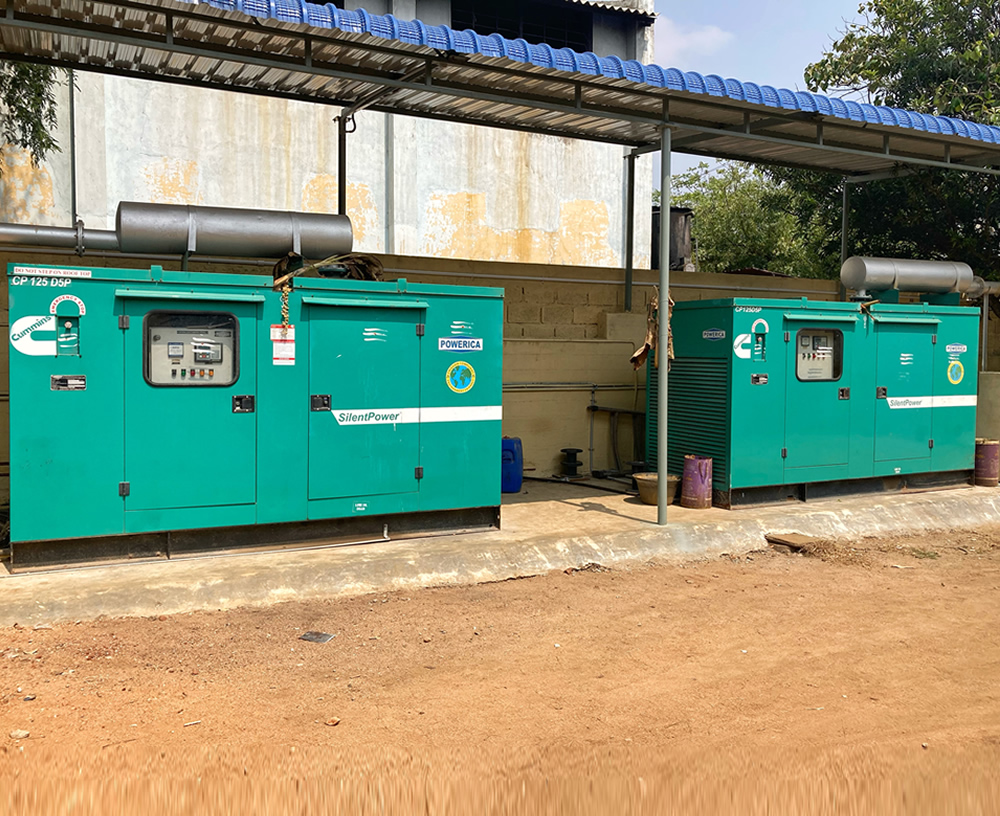 Back up Power and Generators
