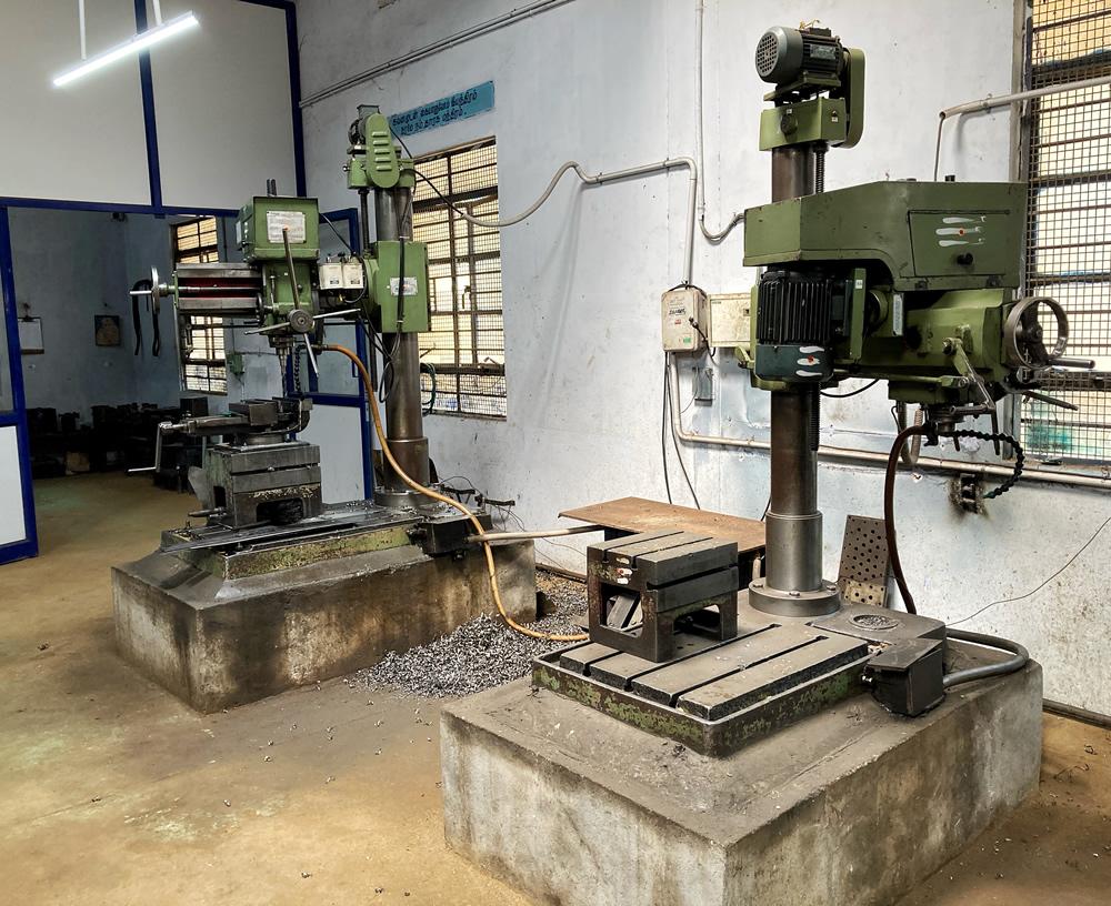 Machine Shop Section
